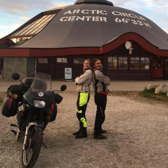 Artic circle a Moto - expemundo à moto 2017