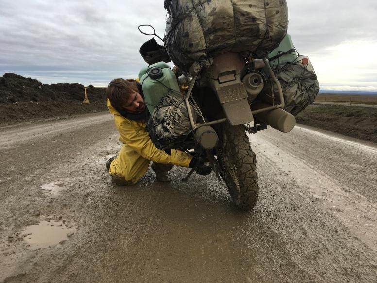 Tension chaine : expemundo à moto 2017